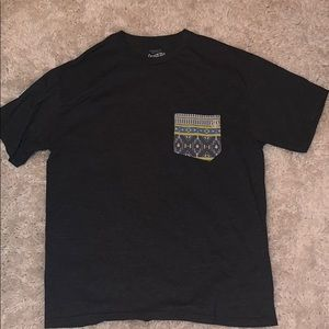 T-shirt with Decorative Pocket